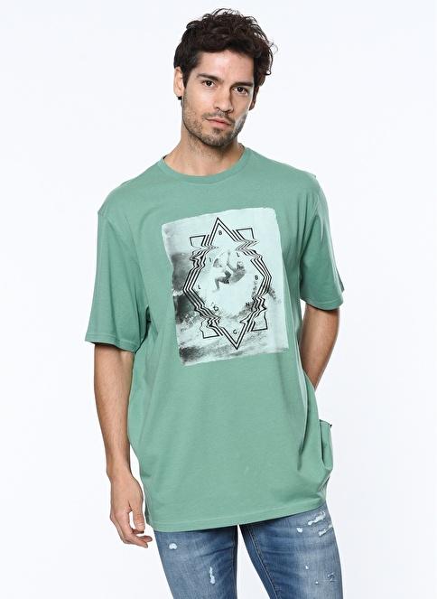 Billabong Baskılı Tişört  Renkli
